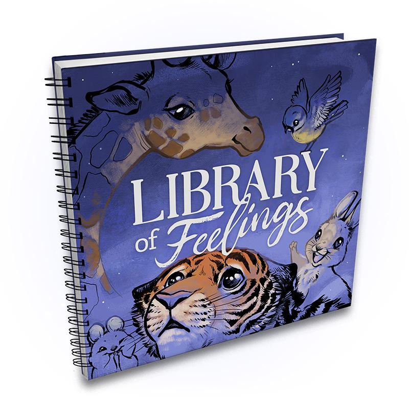 Library of Feelings -book